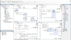 Screenshot of a programming interface from the Codesys automation program